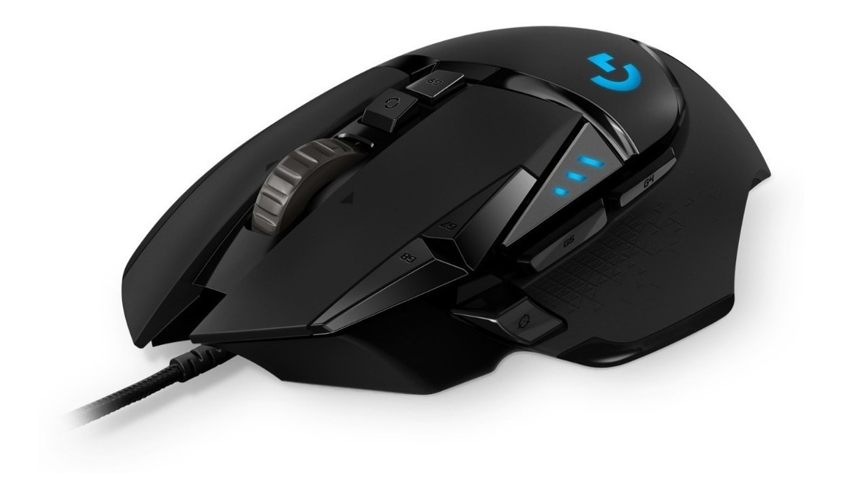 MOUSE LOGITECH GAMING G502