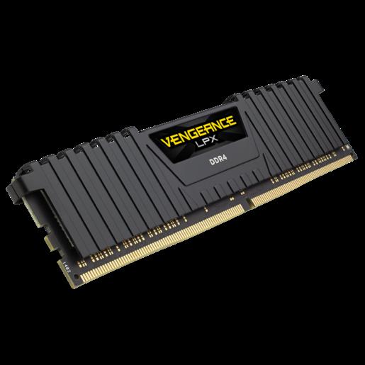 DDR4 16 GB. 3000 CORSAIR VENGEANCE LPX BLACK