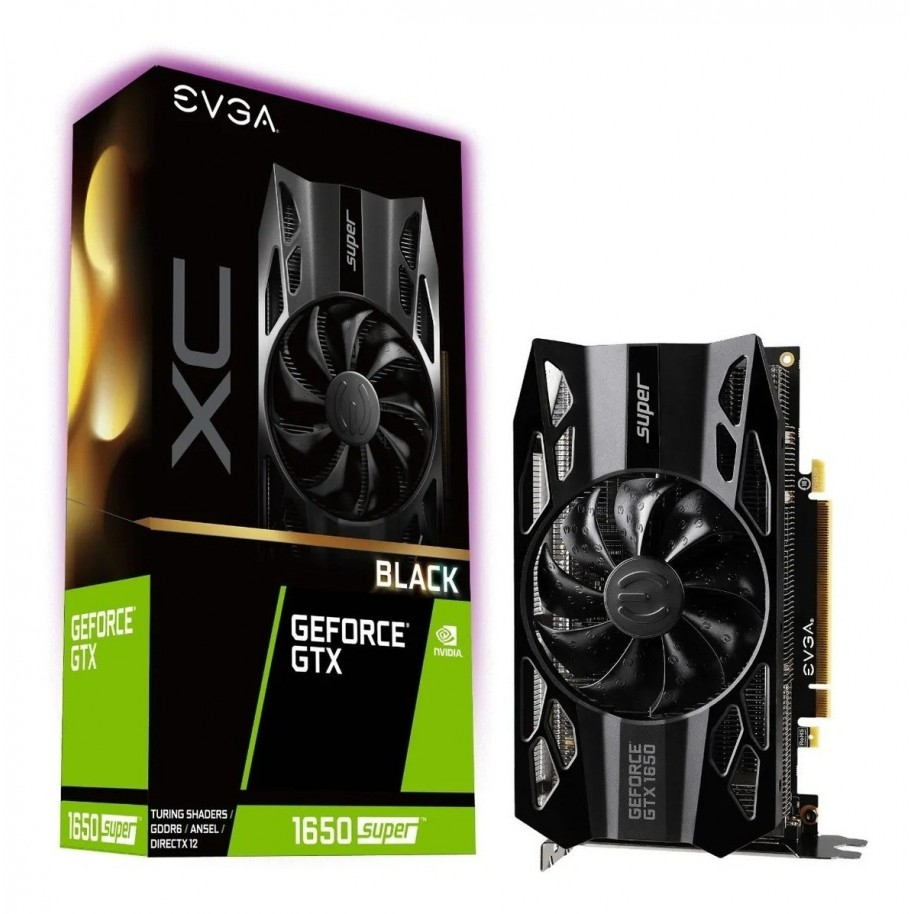 VIDEO GEFORCE GTX 1650 SUPER 4 GB. DDR6 EVGA
