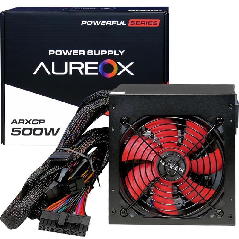 FUENTE ATX 500W AUREOX ARXGP-500W GAMER
