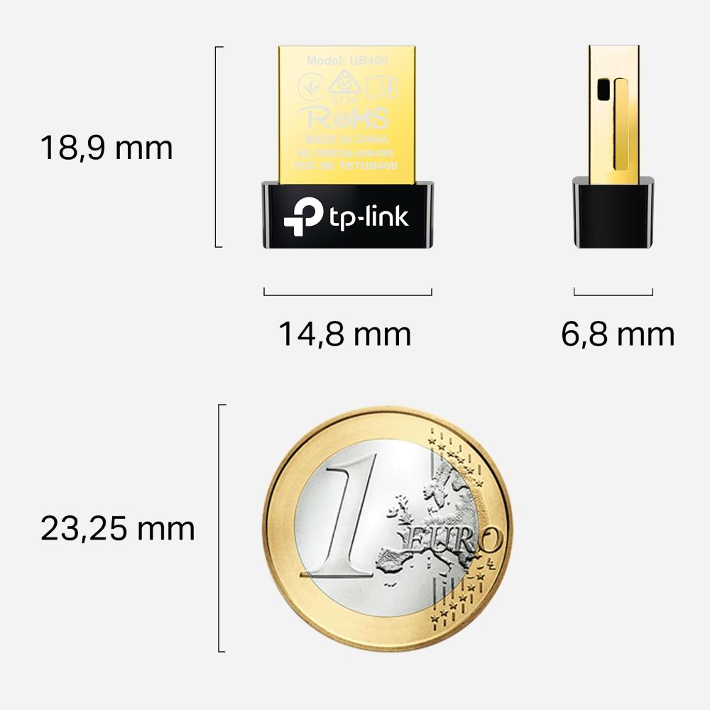 ADAPTADOR BLUETOOTH 4.0 USB TP-LINK UB400