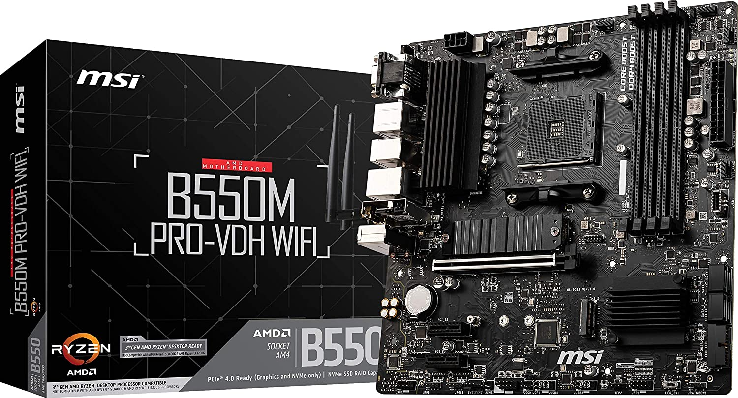MOTHER MSI B550M PRO-VDH WIFI