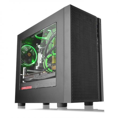 GABINETE THERMALTAKE VERSA H18 TEMPERED GLASS