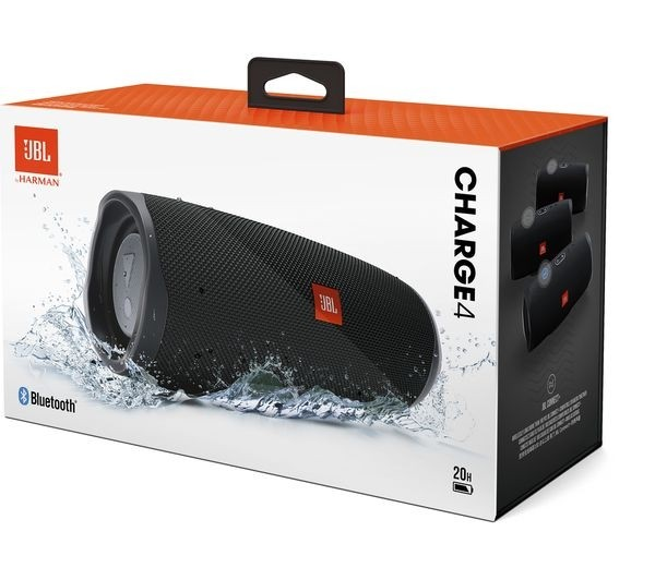 PARLANTE JBL CHARGE4 BLACK