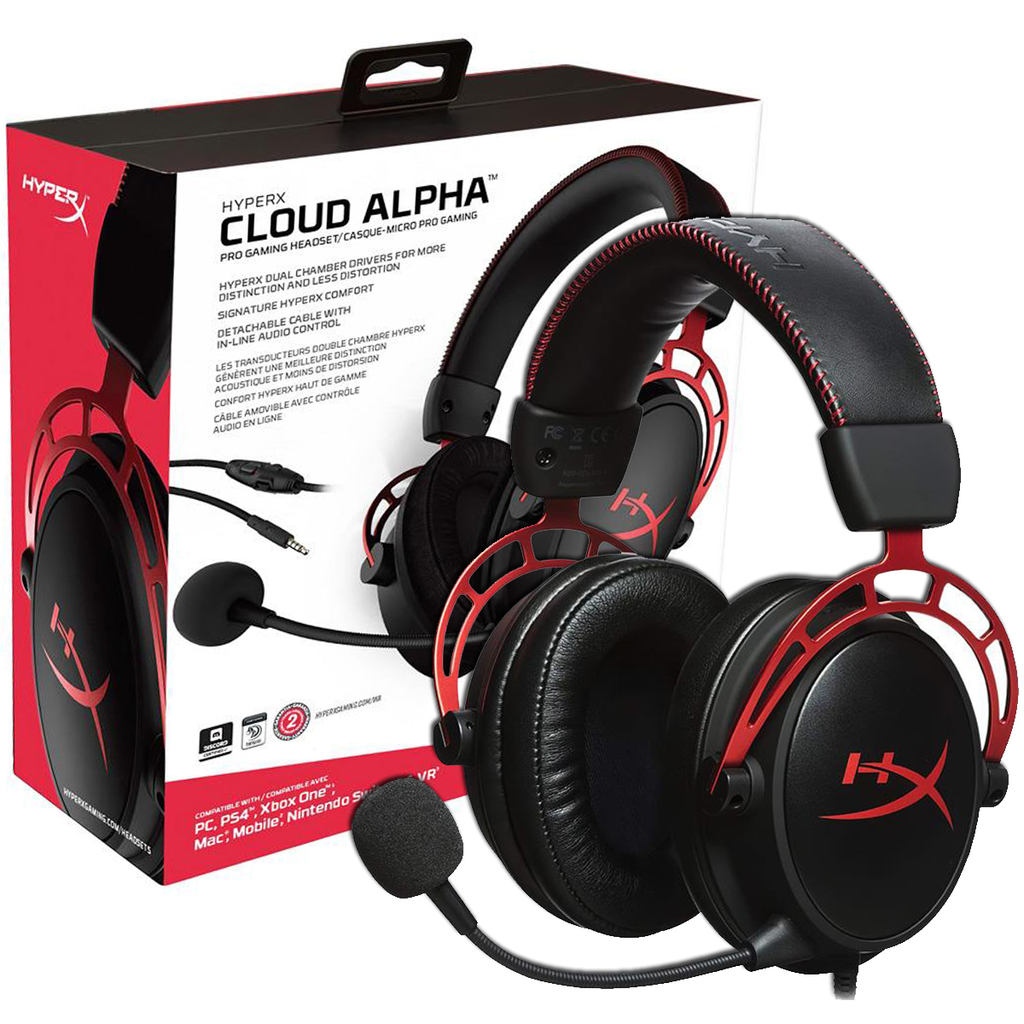 AURICULAR C/MIC HYPERX CLOUD ALPHA GAMING