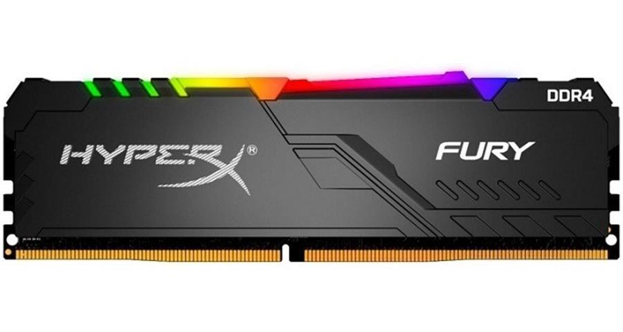 DDR4 8 GB. 3600 MHZ HYPERX FURY RGB