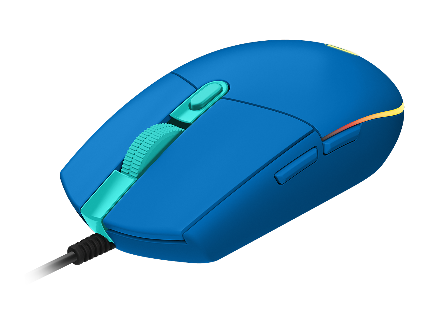 MOUSE LOGITECH GAMING G203 BLUE