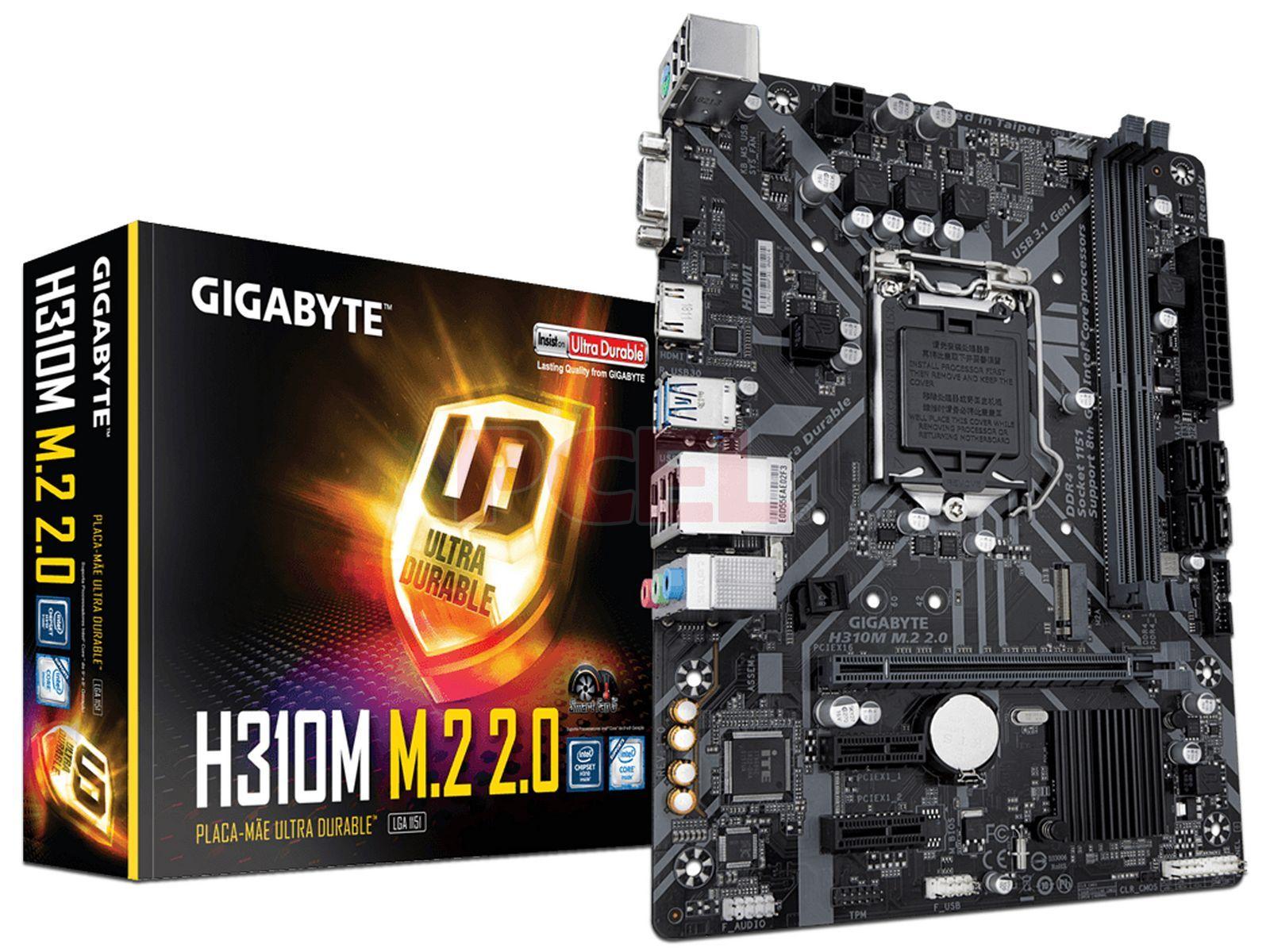 MOTHER GIGABYTE H310M M.2 2.0