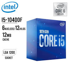 MICRO INTEL CORE I5-10400F (SIN VIDEO) LGA1200