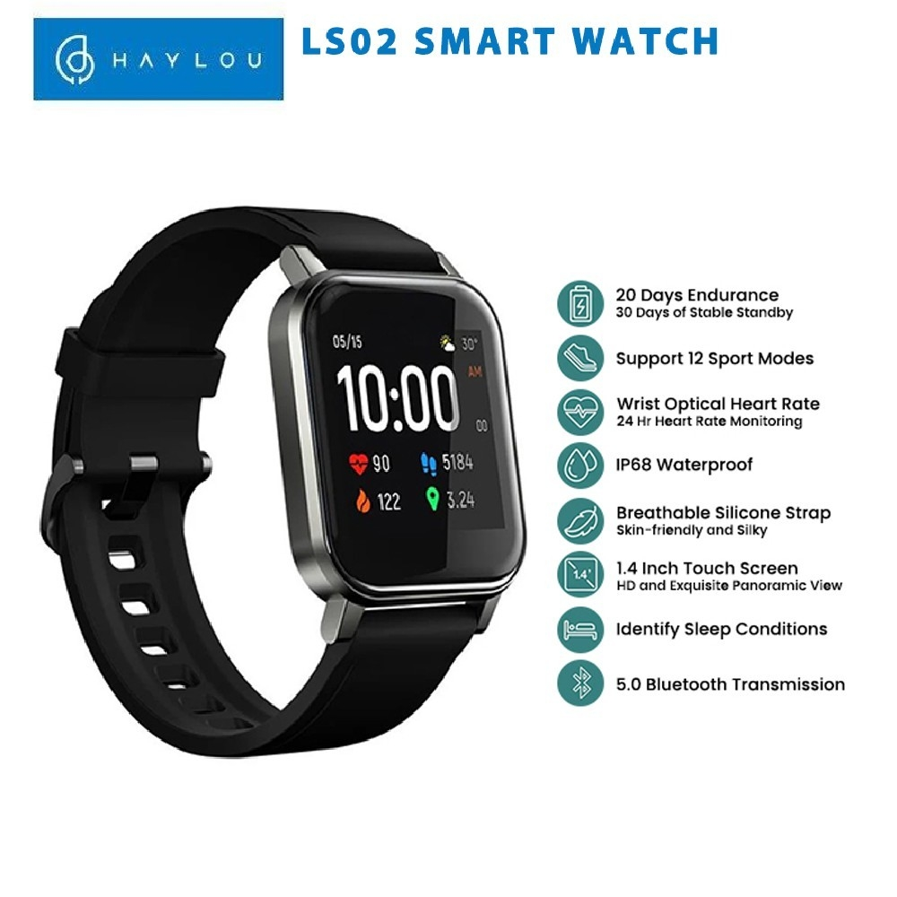 SMARTWATCH HAYLOU LS02 BY XIOAMI