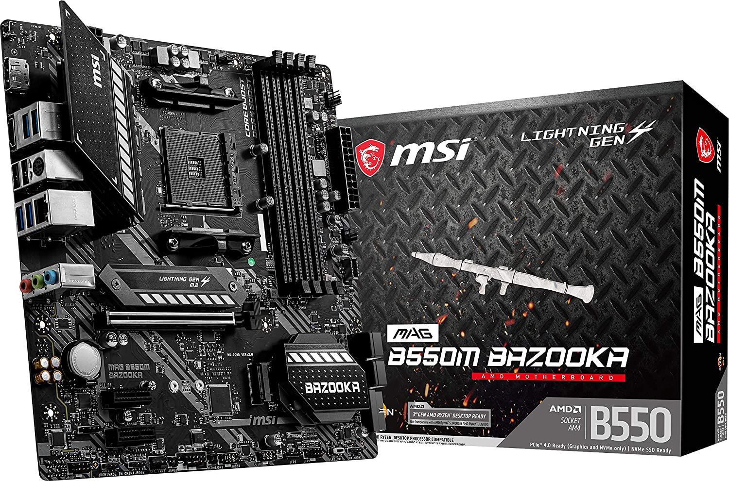 MOTHER MSI B550M BAZOOKA AM4