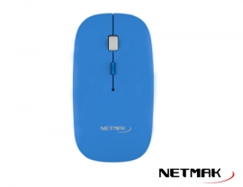 MOUSE WIRELESS NETMAK NM-W40B AZUL