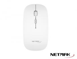 MOUSE WIRELESS NETMAK NM-W40W BLANCO