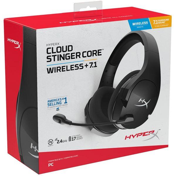 AURICULAR C/MIC HYPERX WIRELESS CLOUD STINGER CORE 7.1