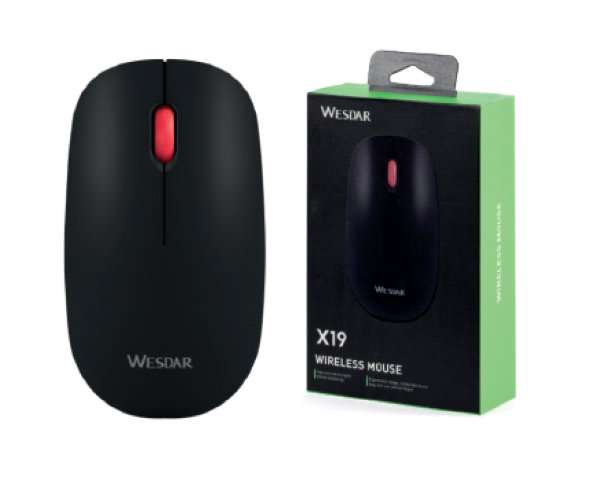 MOUSE WIRELESS WESDAR X19