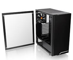 GABINETE THERMALTAKE H100 BLACK TEMPERED GLASS
