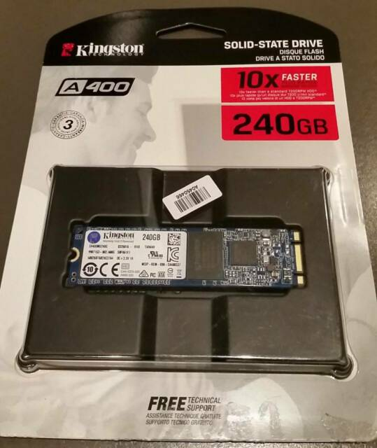 SSD 240 GB. KINGSTON A400 M.2