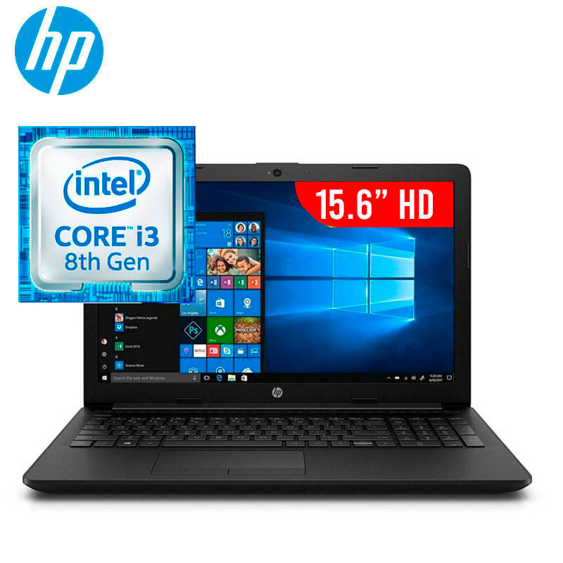 NOTEBOOK HP 15-DA0286NIA I3-8130U