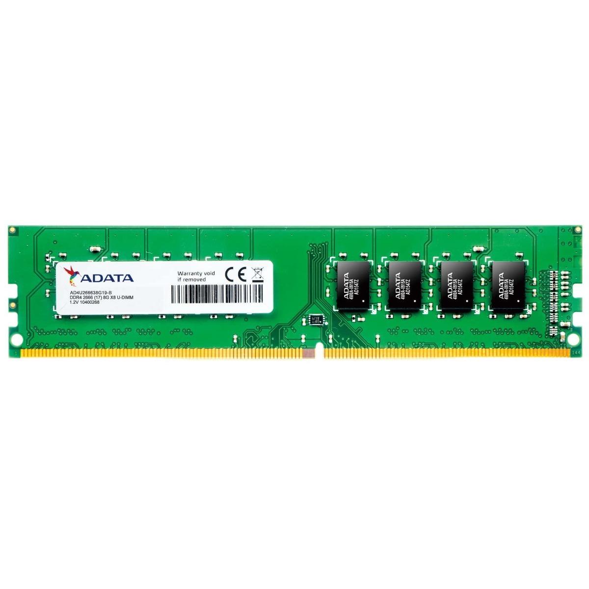 DDR4 8 GB. 2666 MHz ADATA