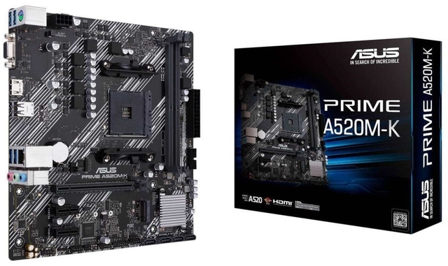 MOTHER ASUS PRIME A520M-K AM4