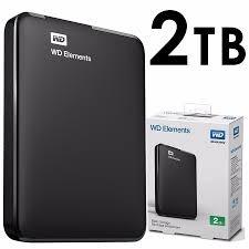 HDD PORTABLE USB 3.0 2 TB. WD