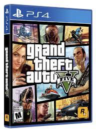 JUEGO PS4 GTA V
