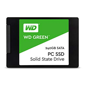 SSD 240 GB. WESTERN DIGITAL GREEN