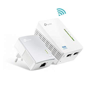 POWERLINE EXTENDER TP-LINK TL-WPA4220 KIT 300 MBPS