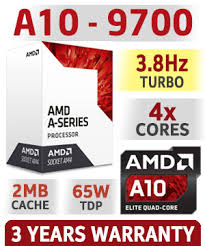 MICRO AMD A10-9700 3.5 GHz AM4