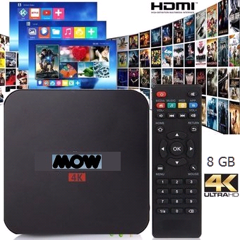 ANDROID BOX MOW TV PRO 16 GB