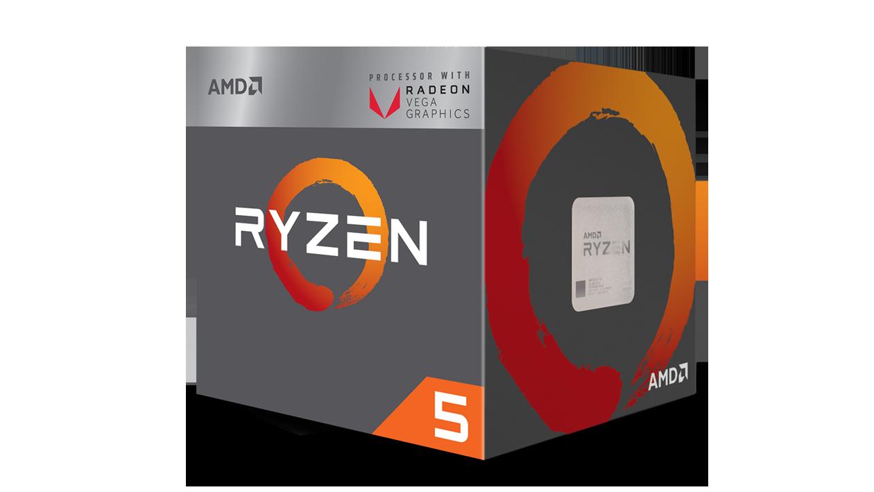 MICRO AMD RYZEN 5 2400G 3.9 GHz AM4 VEGA