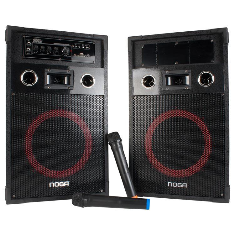 PARLANTES BLUETOOTH NOGA MIX X2