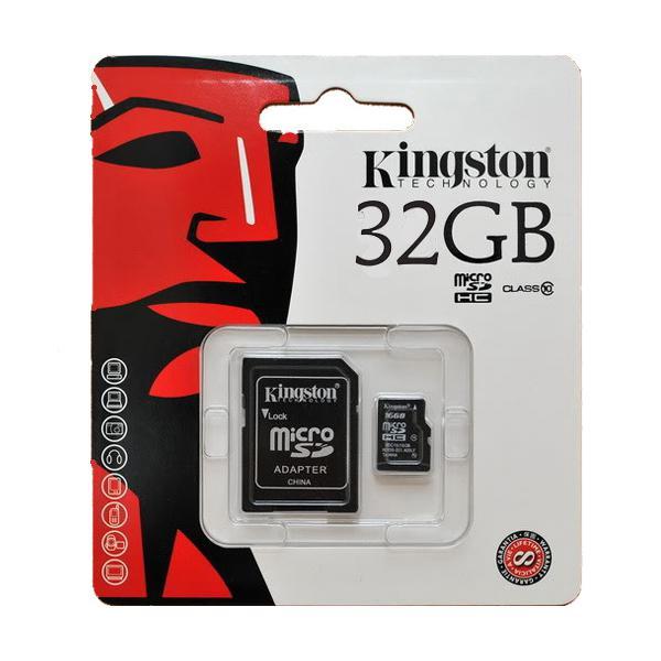 MEMORIA MICRO-SD 32 GB. CLASS 10 KINGSTON
