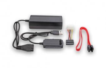 ADAPTADOR USB A IDE/SATA NOGA HE2020