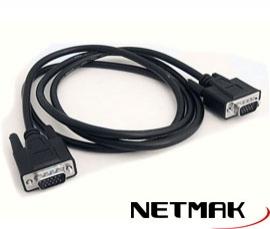 CABLE VGA 1.8M NETMAK NM-C18