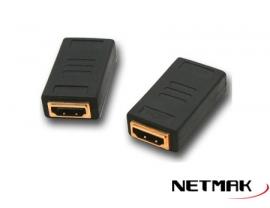 ADAPTADOR HDMI (H) A HDMI (H) P/EXT. NETMAK NM-C38
