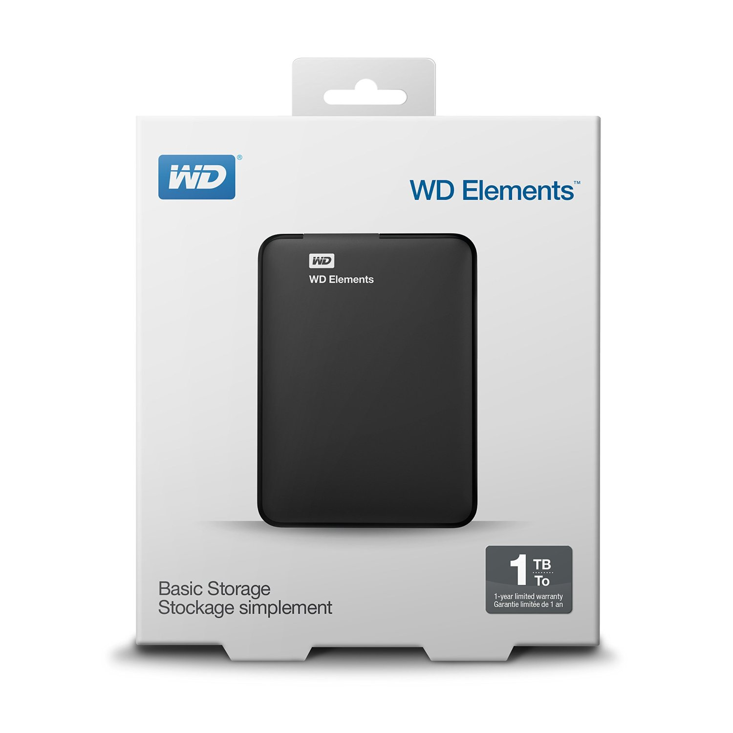 HDD PORTABLE USB 3.0 1 TB. WD
