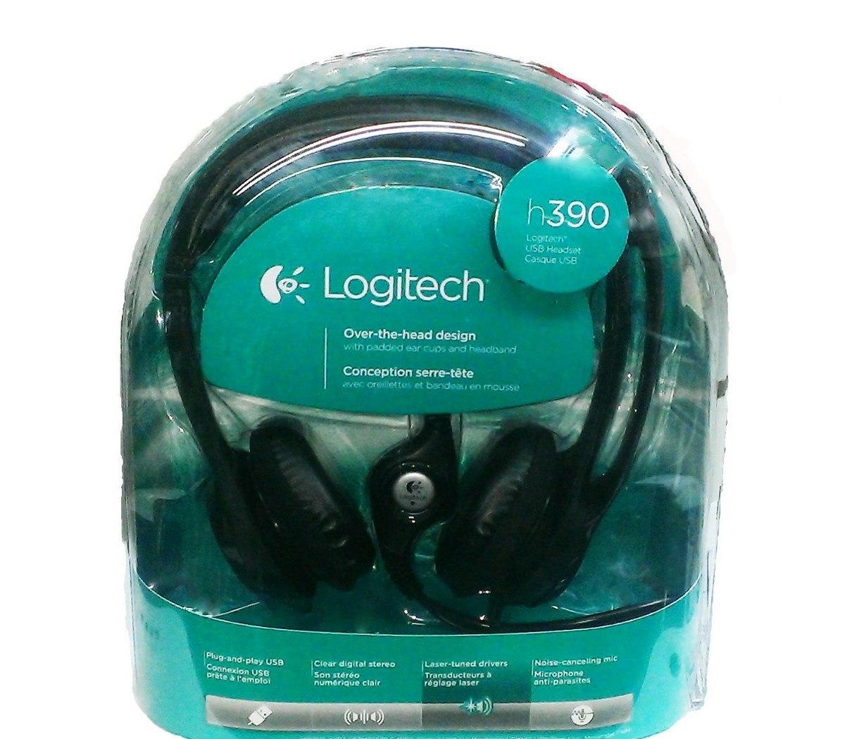 AURICULAR C/MIC LOGITECH COMFORT H390 USB