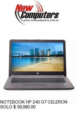 NOTEBOOK HP 240 G7 CELERON / 4GB / 500G: