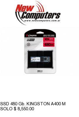 SSD 480 Gb. KINGSTON A400 M.2: