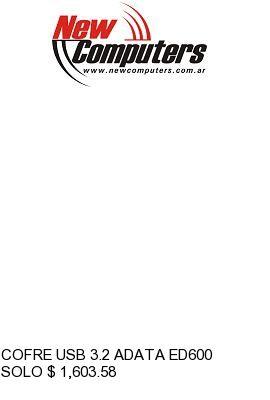 COFRE USB 3.2 ADATA ED600: