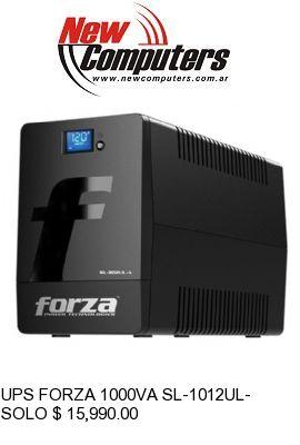 UPS FORZA 1000VA SL-1012UL-A SMART: