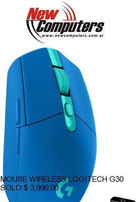 MOUSE WIRELESS LOGITECH G305 LIGHTSPEED WIRELESS BLUE: