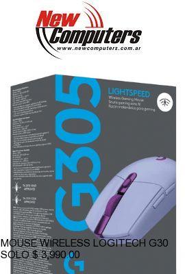 MOUSE WIRELESS LOGITECH G305 LIGHTSPEED WIRELESS LILA: