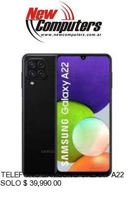 TELEFONO SAMSUNG GALAXY A22 BLACK: