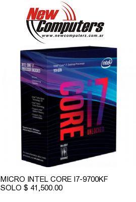 MICRO INTEL CORE I7-9700KF S/VIDEO S/COOLER: