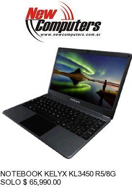 NOTEBOOK KELYX KL3450 R5/8GB/SSD240: