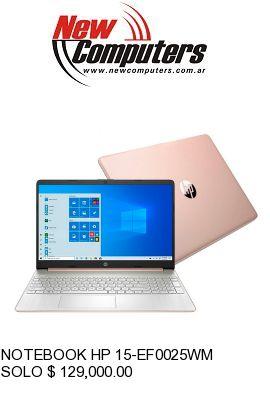 NOTEBOOK HP 15-EF0025WM: