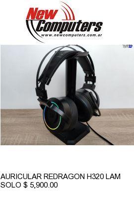 AURICULAR REDRAGON H320 LAMIA RGB: