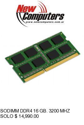SODIMM DDR4 16 GB. 3200 MHZ MARKVISION: